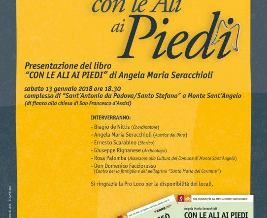 """Presentazione del libro """"Con le Ali ai Piedi"""" di Angela Maria Seracchioli"""