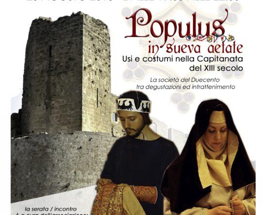 Populus in Sueva Aetate: usi e costumi nella Capitanata del XIII secolo