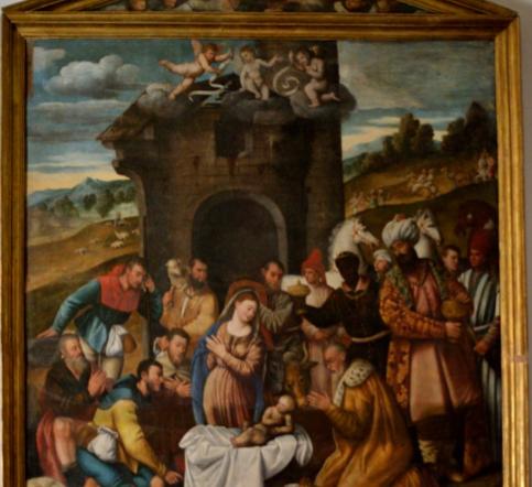 """Un dipinto da scoprire: """"La Natività"""" dei Licinio nella chiesa di S. Francesco a Manfredonia - di Giacomo Telera"""