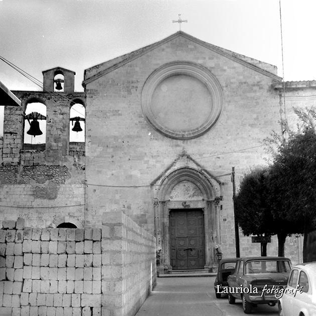Chiesa di San Domenico anni '60 (Foto Lauriola da Manfredoniaricordi)