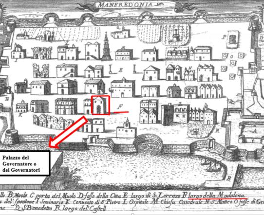 Governatori e castellani durante l'episcopato dell'Arcivescovo Orsini a Manfredonia - di GIACOMO TELERA